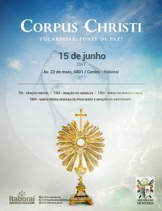 Corpus Christi em Itaboraí 2017